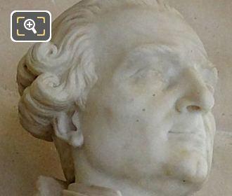Pierre Augustin Caron De Beaumarchais Bust By Artist Roland Mathieu Meusnier