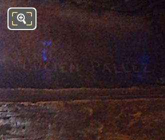 Lucien Pallez Inscription On Jean Mounet-Sully Bust