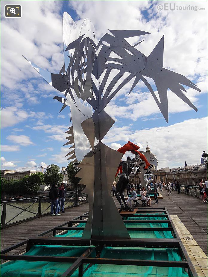Contemporary Art Sculpture Arbre V Pont Des Arts