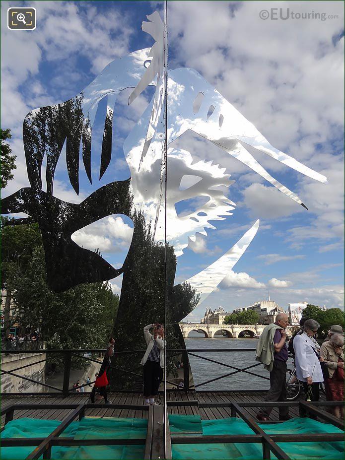 Enchanted Footbridge Sculpture Arbre V Pont Des Arts