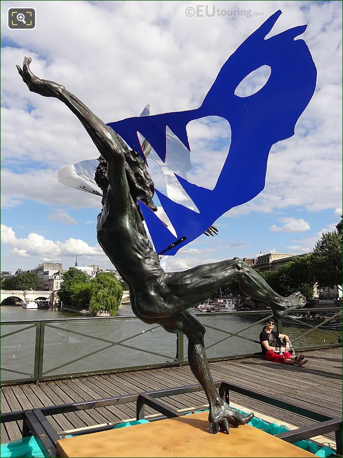 Dans La Gueule Du Loup Sculpture By Daniel Hourde