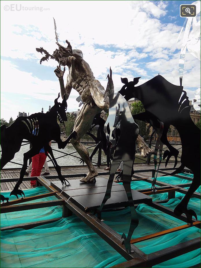 LHS Acteon Sculpture Pont Des Arts