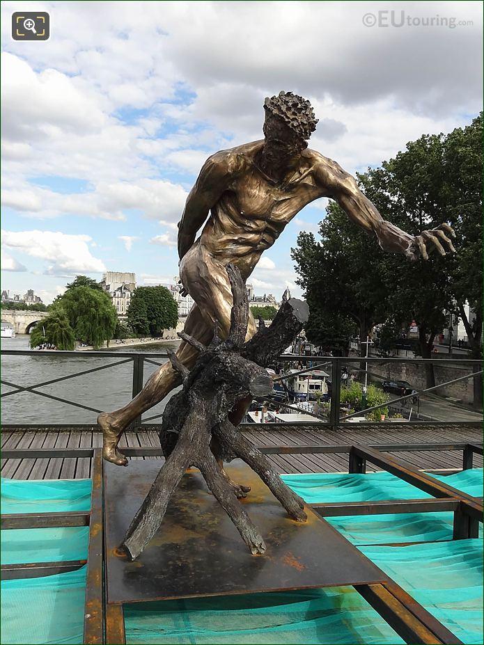 Le Paradis Est Un Enfer Sculpture By Daniel Hourde
