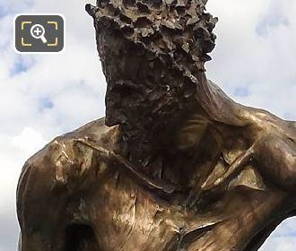 Le Paradis Est Un Enfer Bronze Sculpture