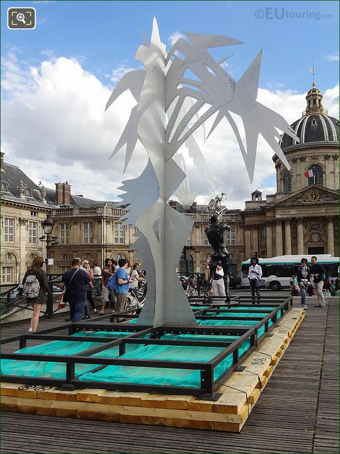 Arbre VI Sculpture On Temporary Platform