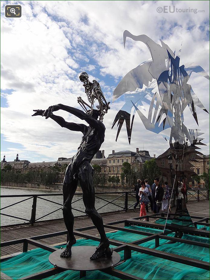 FLHS Colin Maillard Sculpture Pont Des Arts