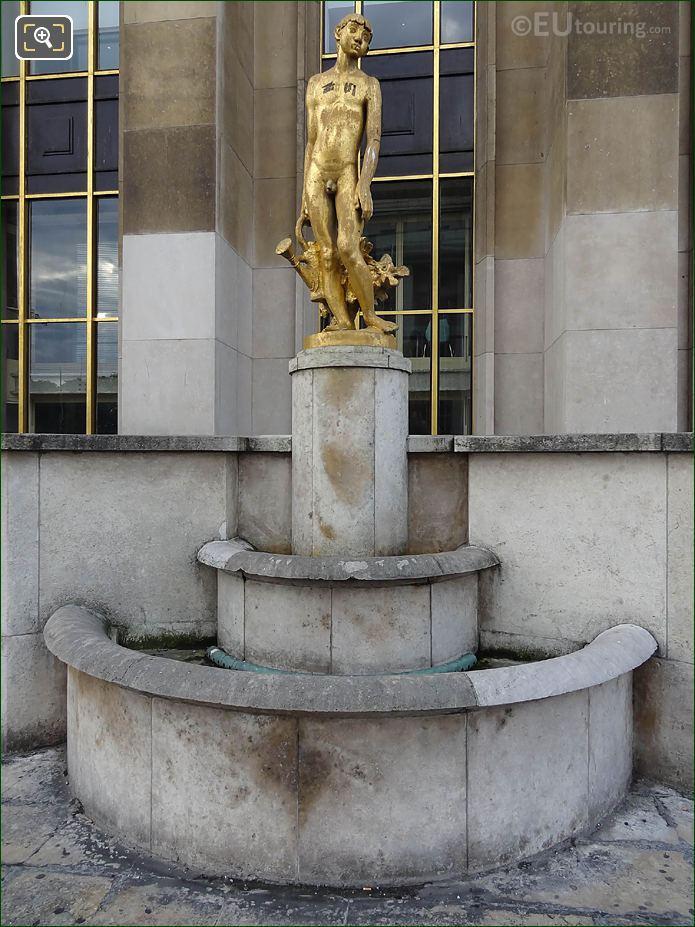 Bronze Le Jardinier Statue Palais Chaillot