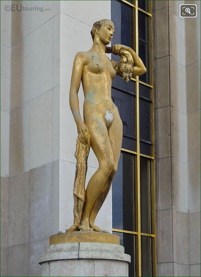 Allegorie Female Statue Le Matin
