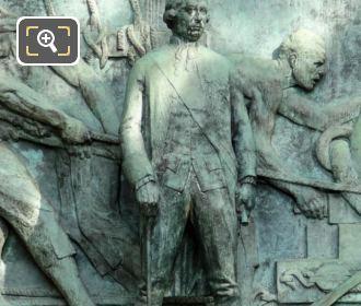 Bronze Statue Admiral Francois Joseph Paul Grasse