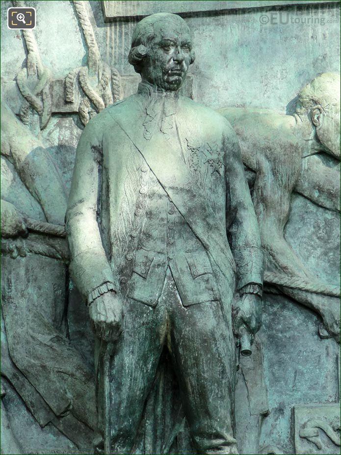 Admiral Francois Joseph Paul Grasse Statue By Paul Landowski