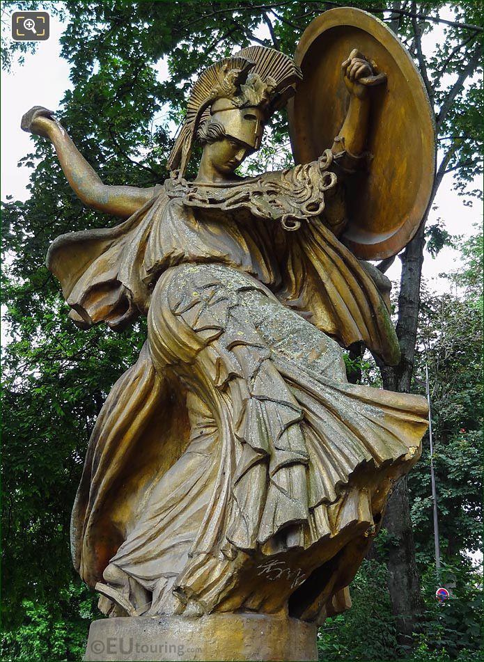 Carlo Sarrabezolles Statue La Danse Triomphale A Pallas Athene