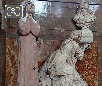 Eglise Saint-Roch Statue Of Saint Rita Of Cascia
