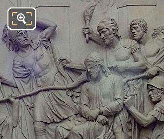 Jesus Accable d'Outrages Sculpture by Artist Louis Pierre Deseine