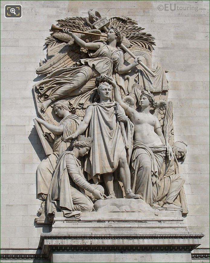 Le Triomphe De 1810 Sculpture Arc De Triomphe