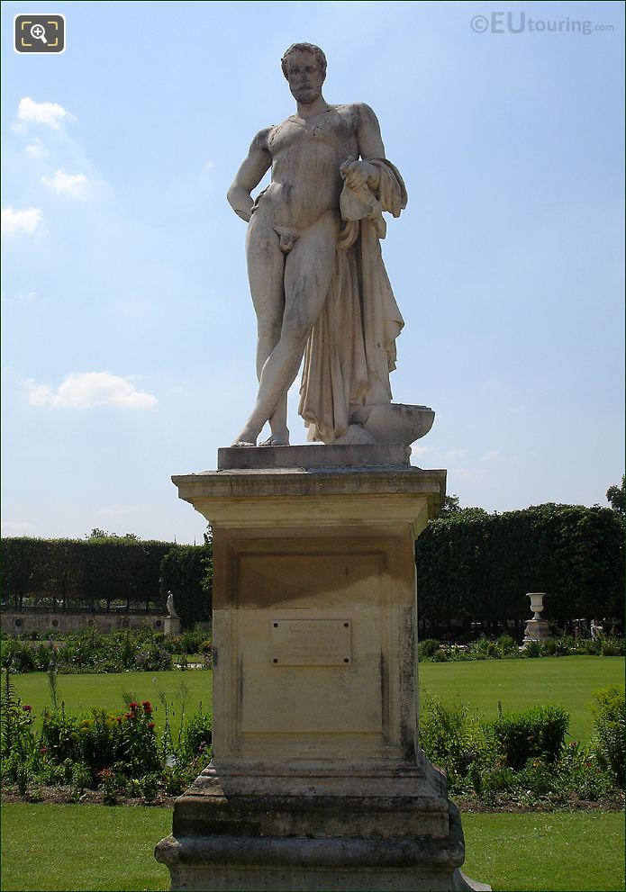 Tuileries Gardens Cincinnatus Statue