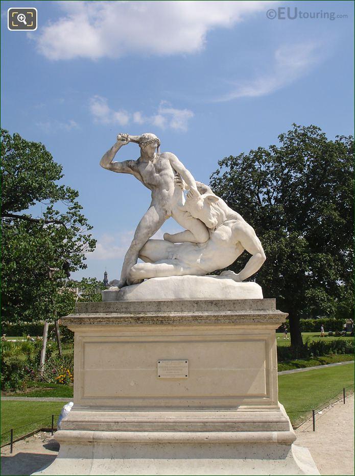 Hercules And Minotaur Statue