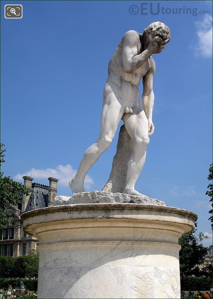 Tuileries Cain Statue