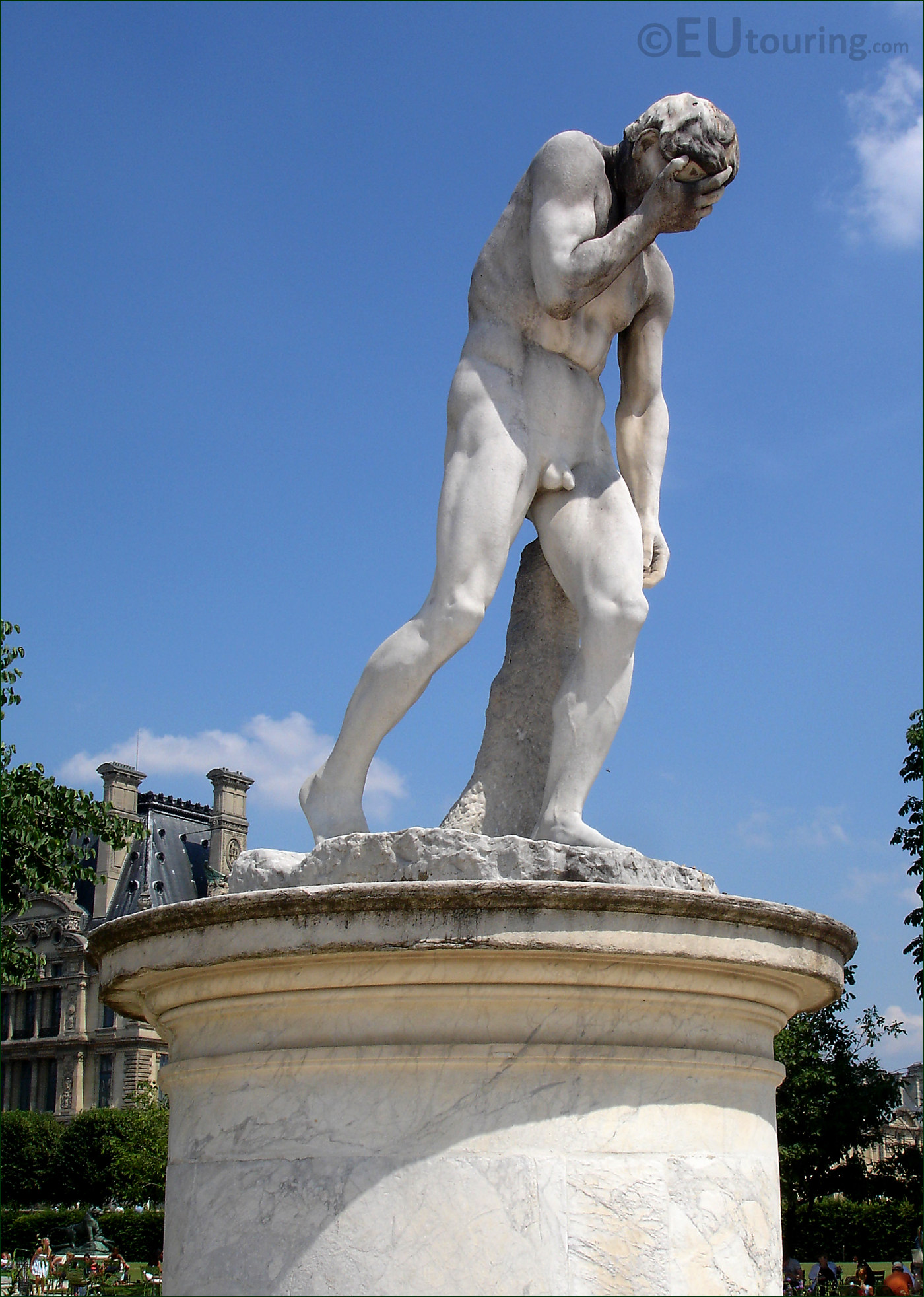 Hd photo of cain statue at the tuileries gardens paris - Sculpture jardin des tuileries ...