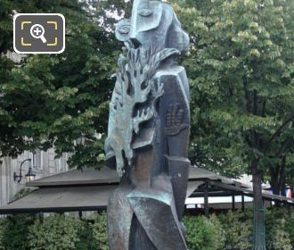 Prometheus Statue By Ossip Zadkine
