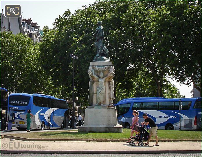 Monument Du Marechal Gallieni By Jean Boucher