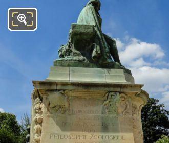 Jean Baptiste Lamarck Statue By Leon Fagel
