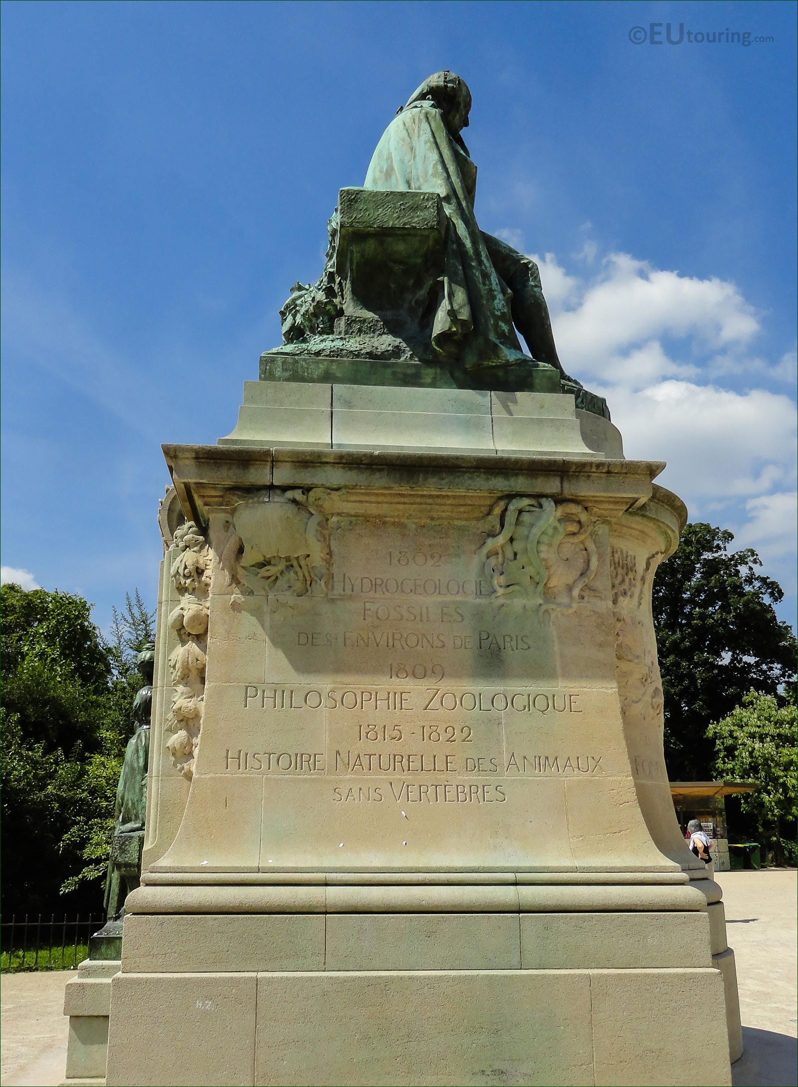 Hd photos of jean baptiste lamarck statue in jardin des for Jardin paris