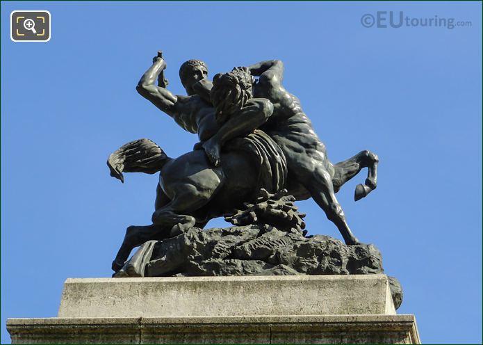 Combat Du Centaure Et Du Lapithe Statue By Antoine Barye