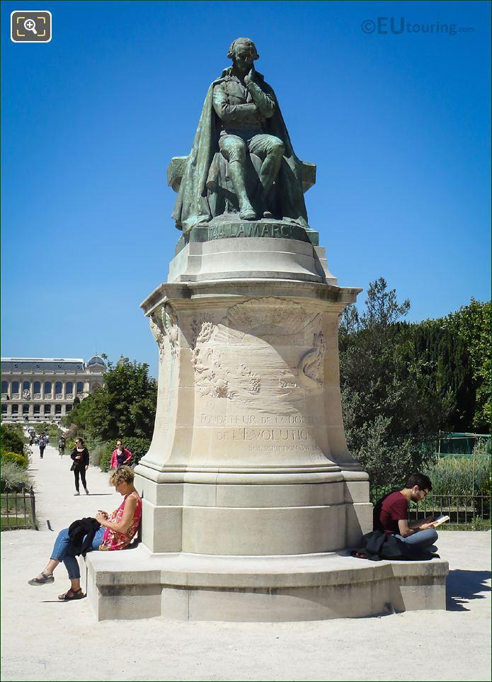 Jean Baptiste Lamarck Statue Jardin Des Plantes