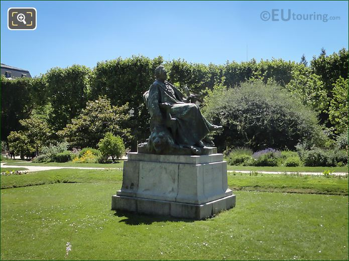 Bronze Statue Of Georges-Louis Leclerc, Comte De Buffon