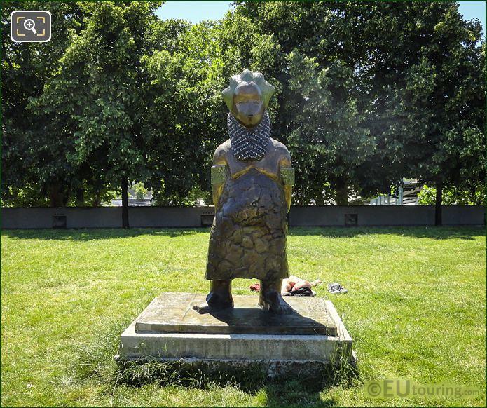 Bronze Statue Naomi The African