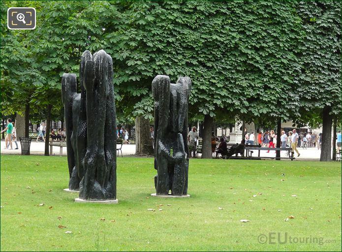 Personnage III Statues Jardin Des Tuileries