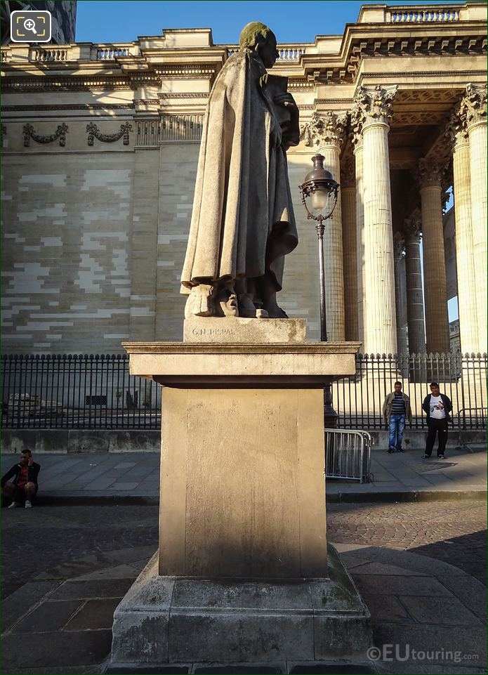 Paris Statue Of French Playwright Pierre Corneille