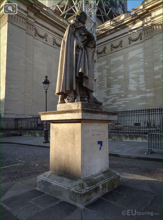 Pierre Corneille Statue By Gabriel Noel Rispal
