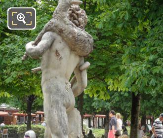 LHS Of Faune Au Chevreau Statue