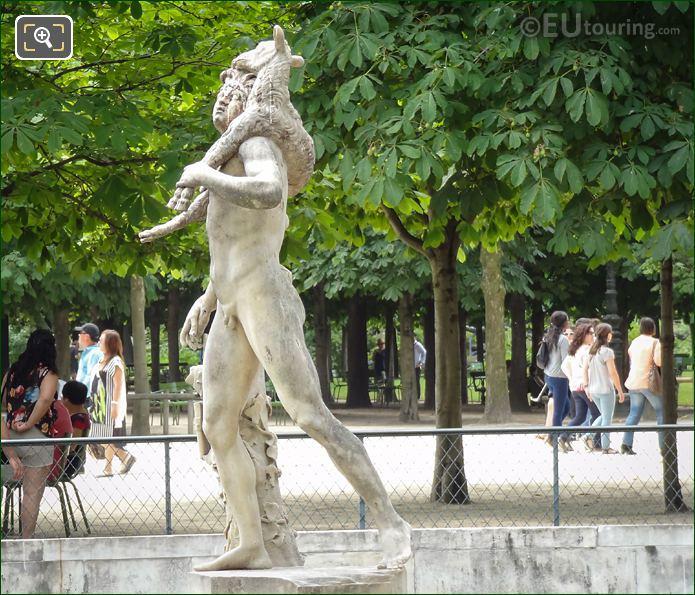 Faune Au Chevreau Statue By Pierre Lepautre
