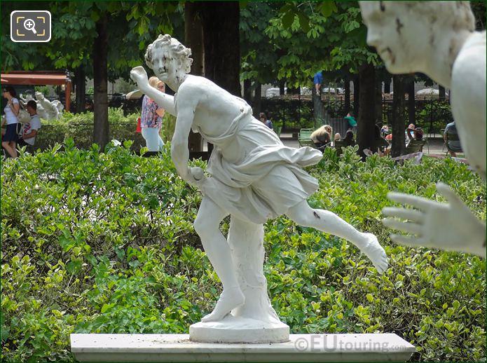 LHS Of Hippomene Statue