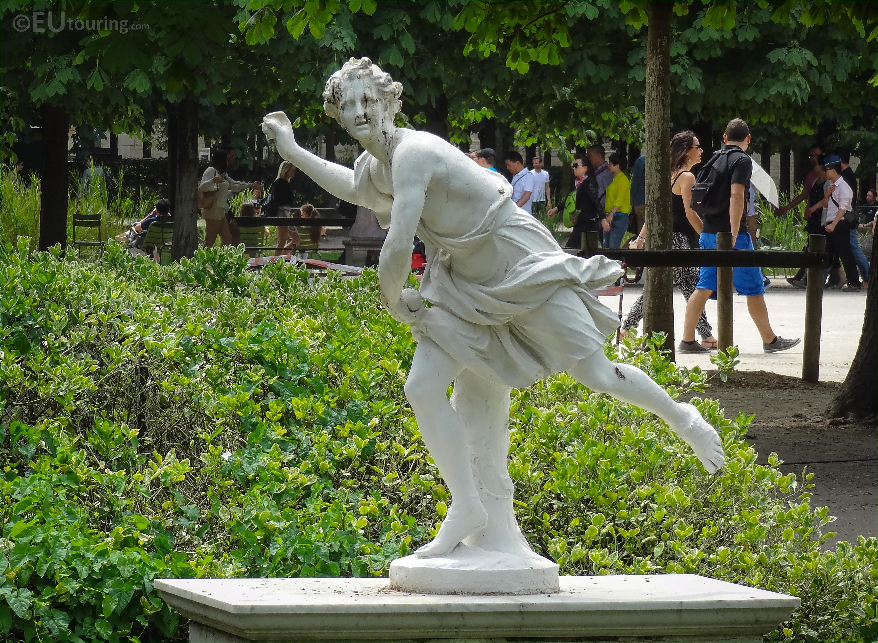 """Résultat de recherche d'images pour """"STATUES """"ATALANTE ET HIPPOMENE"""" tuileries"""""""