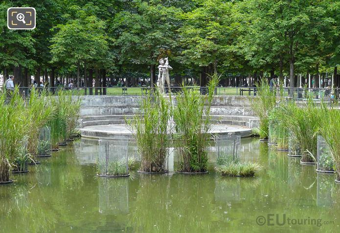 Front Faune Au Chevreau Statue And Exedre