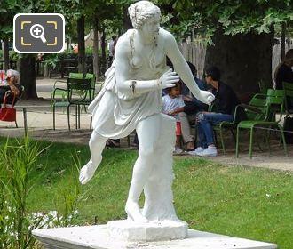 Atalante Statue By Artist Pierre Lepautre