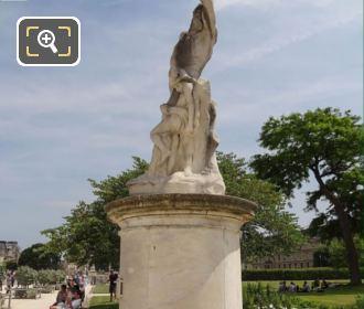 LHS Of L'Homme Et Sa Misere Ou La Misere Statue
