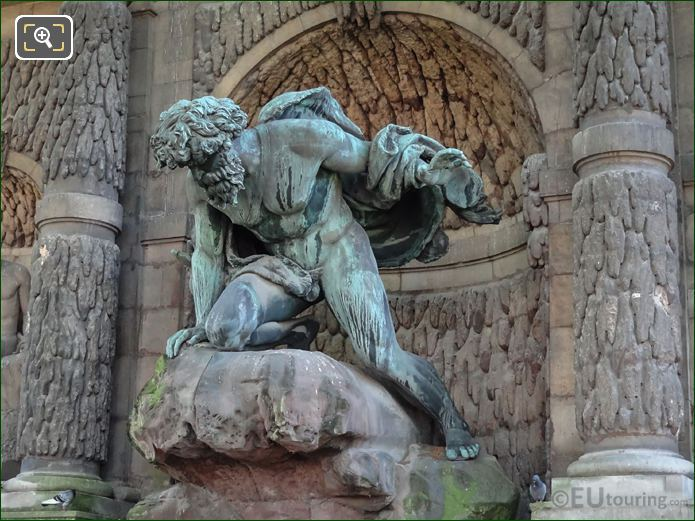 Polyphemus Statue Luxembourg Gardens