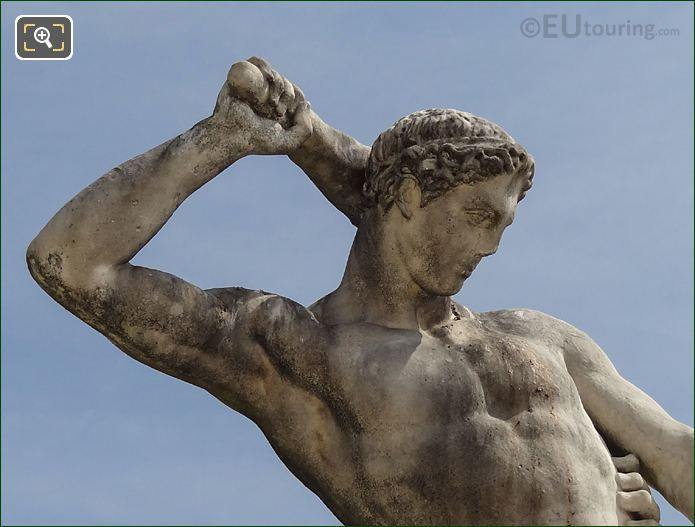 Hercules On Thesee Combattant Le Minotaure Statue