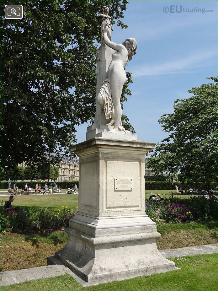 The Cassandre Statue By French Sculptor Aime Millet