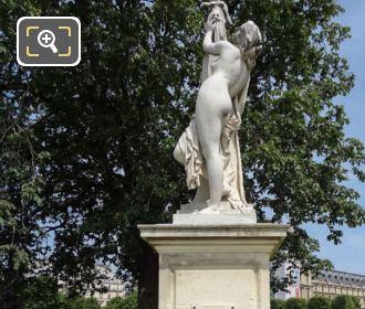 Cassandre Se Met Sous La Protection De Pallas Statue Inside Jardin Des Tuileries