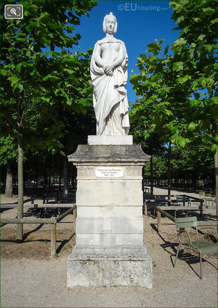 Marguerite De Provence Statue Jardin Du Luxembourg