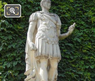 Julius Caesar Statue By Sculptor Ambrogio Parisi