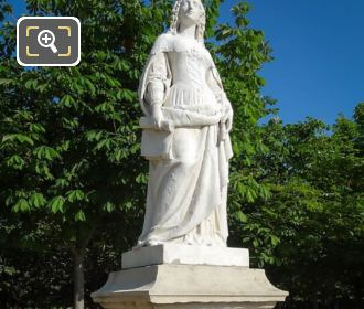 Marble Statue Anne Of Austria