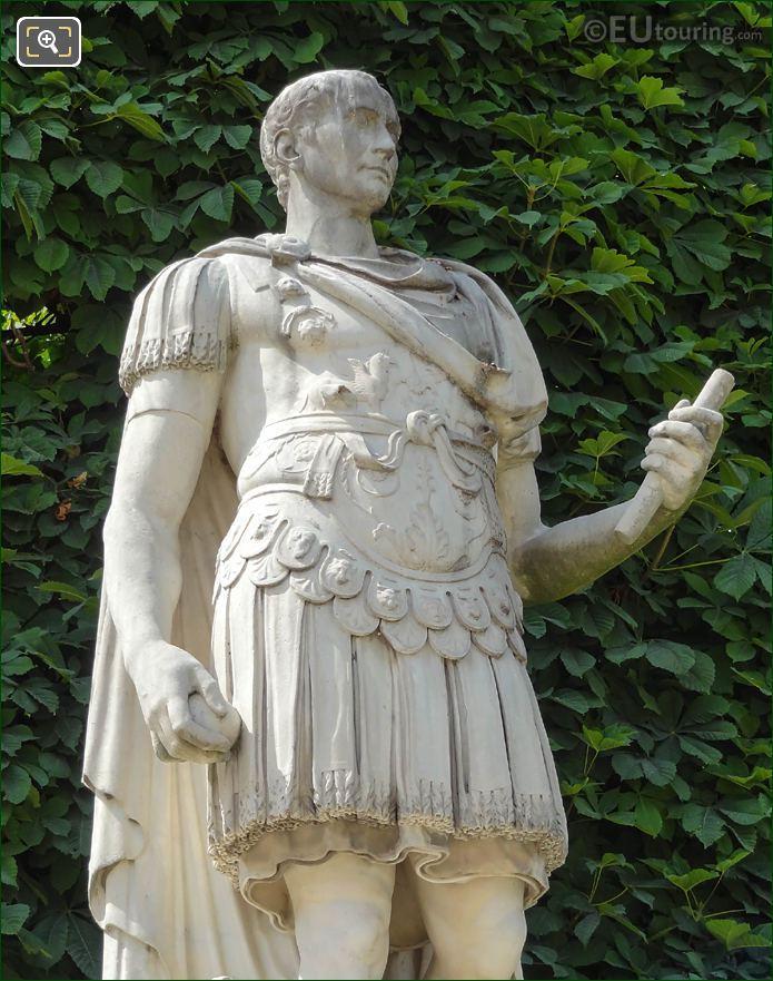 Body Section Of Julius Caesar Statue