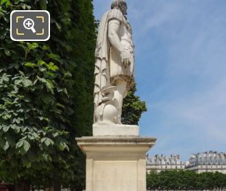 RHS Of Julius Caesar Statue In Tuileries Gardens