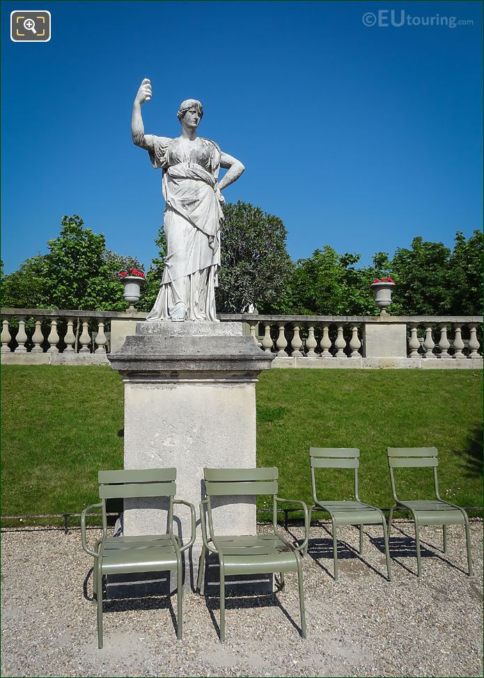 Junon, Reine Du Ciel Statue Jardin Luxembourg